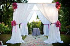pipe and drape- pipe and drape for DIY occasion