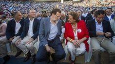 Rajoy prometió resarcir a Barberá si el Supremo la exoneraba