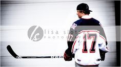 Hockey Seniors. This picture is awesome! Wanna do a photo shoot for Dylan. These are cute ideas
