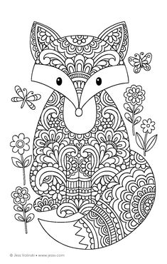 Amazon Color Animals Coloring Book Perfectly Portable Pages On The
