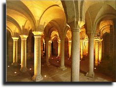 Abbadia San Salvatore, Southern Tuscany: the Abbey. In the Abbey was kept, for almost one thousand years,the Codex Amiatinus, the earliest surviving manuscript of the nearly complete Bible in the Latin Vulgate version.