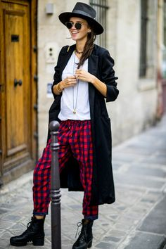 streetstyle look, spotted ont he fashion week in Paris!
