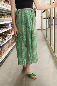 A Détacher Serafina Skirt Green
