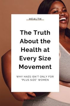I've noticed that the divide within the health and wellness space on the topic of Health At Every Size (HAES) seems to be partly due to misunderstanding what this movement is truly all about. As a Body Confidence Coach, my mission is to empower ALL women to feel confident and beautiful in their own skin. | Every Body is Beautiful | Body Positivity | Body Acceptance #bodyconfidence #healthateverysize #antidiet via @kairahjames Confidence Coaching, Body Confidence, Certified Personal Trainer, Making Excuses, Health Coach, Physical Activities, Healthy Life, Health And Wellness, Positivity
