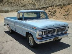 '70 Ford F100. Had a '72 hand-me-down that I went to college with. Brings back memories.