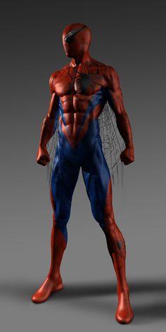 #Spiderman #Fan #Art. (The Åmazing Spider-Man Concept Art) By: Kym Barrett. (THE * 5 * STÅR * ÅWARD * OF: * AW YEAH, IT'S MAJOR ÅWESOMENESS!!!™)[THANK Ü 4 PINNING!!!<·><]<©>ÅÅÅ+(OB4E)
