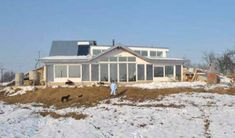 Active Solar House Plans building a passive solar home: part v | mothers, home and green homes