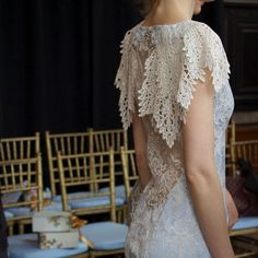 I'm in love with this collection. Claire Pettibone 2015 Fashion Show | Photo: Firefly Events