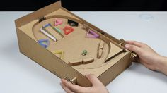 How to make a Pinball Machine with Cardboard at Home https://medium.com/@padmaaccessorieslimited/how-to-make-a-pinball-machine-with-cardboard-at-home-905e340a4005