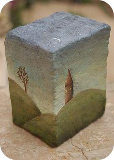 Pebble Painting, Pebble Art, Stone Painting, Stone Crafts, Rock Crafts, Art Rupestre, Art Pierre, Rock Painting Designs, Stone Art