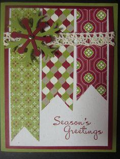 Stampin' Up Handmade Greeting Card