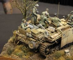 """Farewell of the Faith"" scale. By Volker Bemmbennek. German StuG III G. Tamiya Model Kits, Tamiya Models, Panzer Iii, Military Diorama, Military Art, Scale Models, Diorama Militar, Lego Ww2, Military Action Figures"