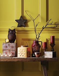 Add a splash of mustard & teal | Daisies & Pie Woodland inspired interiors and home decoration from Sainsbury's gorgeous for Autumn/Winter 2014 | Home style from Daisies and Pie