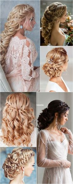 Trendy Wedding Hairstyles : Featured Hairstyle: Elstile; www.elstile.com/; Wedding hairstyle idea.