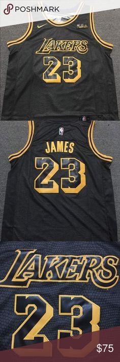 NEW Nike Lebron James NBA LA Lakers Jersey Lebron James 100% authentic  on-court d24852d1f