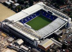 White Hart Lane, home of Tottenham Hotspur, in Middlesex. English Football Stadiums, British Football, White Hart Lane, Fifa, Champions League, Football Ticket, Football Tops, Football Stuff, Arsenal Football