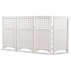 Suncast Outdoor Steel And Resin 4 Panel Screen Yard Enclosure, Taupe Privacy Fence Screen, Garden Screening, Screen Doors, Fence Panels, Metal Panels, Outdoor Screens, Outdoor Privacy, Backyard Privacy, Porch Privacy