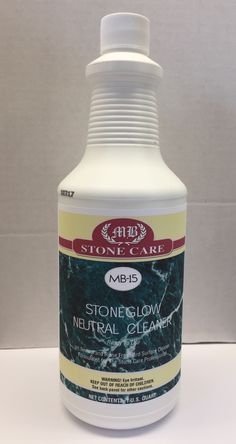 MB-15 StoneGlow Neutral Spray Cleaner Quart Case - MB Stone Pro