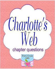 Third Grade Love: Charlotte's Web