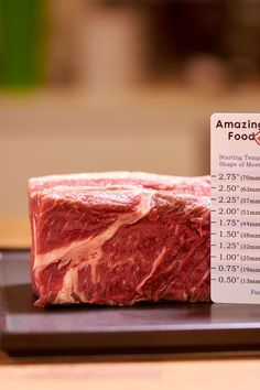 Sous vide thickness ruler 5