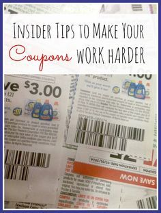 Insider Tips To Make Your Coupons Work Harder - How to save even more money by strategically using coupons, sale cycles, and store policies.