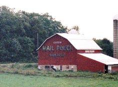 Pennsylvania Dutch barn   PENNSYLVANIA DUTCH TOBACCO AD
