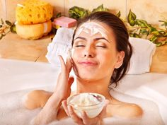 Rejuvenate stressed summer skin with this two-step scrub and mask facial