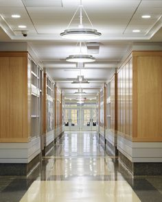 The College Of New Jersey School Business Hallway Cooridor Lobby Architecture CollegeArchitecture Interior DesignNew