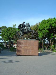 Plaza Simon Bolivar Puerto Ayacucho Venezuela