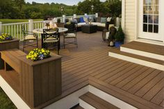 Costs to build composite, plastic lumber, and pressure treated decks. Pros and cons of each deck material.