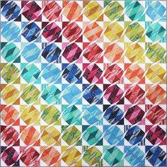 Gemstone Tumble Quilt Pattern by Emma Jean Jansen