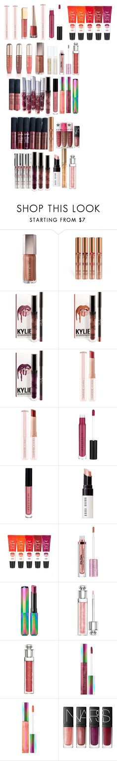 """""""makeup"""" by cuteoutfits4you on Polyvore featuring NYX, Puma, Anastasia Beverly Hills, Bobbi Brown Cosmetics, Lime Crime, Kylie Cosmetics, Christian Dior and NARS Cosmetics"""