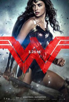 Wonder Woman en los nuevos Posters de Batman v Superman