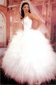 cute white #wedding dresses www.finditforweddings.com