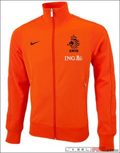 Nike Netherlands Authentic N98 Track Jacket - Safety Orange with Black...$89.99