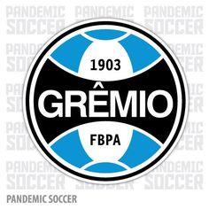 Gremio Porto Alegre Brazil Vinyl Sticker Decal Adesivo