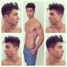 Photoshoot with Park and Ronen.  Hair by TJ Romeland