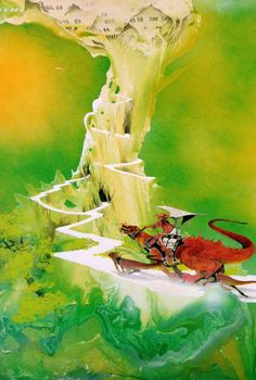 yes album art - by artist Roger Dean