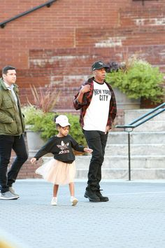 Jay & Blue Ivy out in Manhattan 10th October 2016