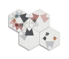Our new collection of cement tiles, carreaux de ciment, cementine, cement tiles, baldosas hidraulicas Keidos. House Tiles, Wall And Floor Tiles, Wall Patterns, Textures Patterns, Geometric Tiles, Encaustic Tile, Tiles Texture, Floor Texture, Home Living