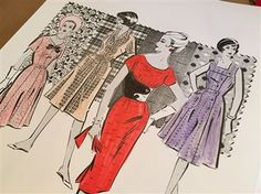 Pattern Play, the second in Indygo Junction's Vintage Notions Coloring Book series, will take you back to a time when there was a sewing machine in every home and women made their own garments for day & night. This fun collection of over 150 vintage sewing pattern illustrations comes from Indygo Junction pattern designer Amy Barickman's vast vintage archives. Discover styles from long-lost pattern designers such as Advance, Hollywood, DuBarry not to mention your familiar favorites Vogue…