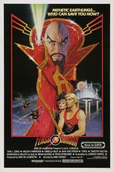 Flash Gordon movie poster. A sci fi dream. #movies