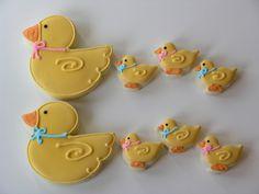 Baby Duck Cookies
