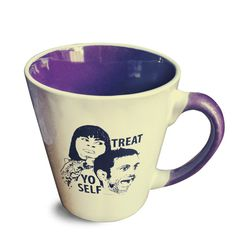 Parks and Recreation  Treat Yo Self Mug by PeachyApricot on Etsy, $16.00