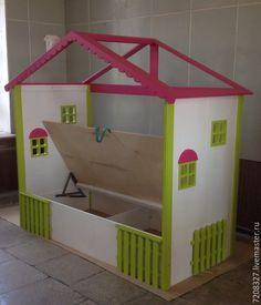 Купить 107. Детская кровать-домик с подъемным механизмом - детская кровать…