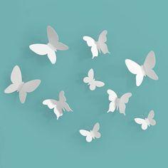 muurdecoratie vlinders