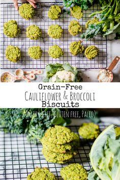 Grain-Free Cauliflower & Broccoli Biscuits