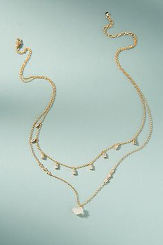 SHOP | gifts for women | gifts for my girlfriend | Anthropologie Bethany Layered Necklace