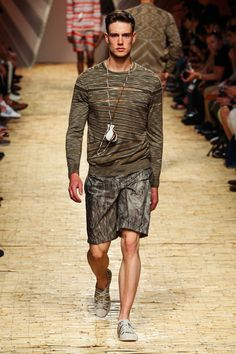 Missoni Spring 2014 Menswear Collection