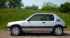 1989 Peugeot 205 GTI achieves record price at classic car auction Peugeot 205 Gti, Auto Peugeot, Renault 5 Gt Turbo, Automobile, Advanced Driving, Auto News, Engine Types, Rally Car, Retro Cars